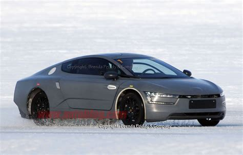 groundbreaking pre production volkswagen xl caught testing   ice autoblog