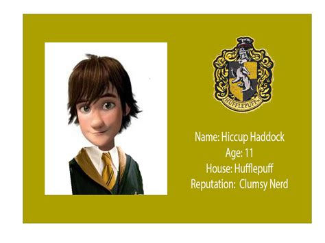 make fan id card hiccup s id card by fan of all things on deviantart