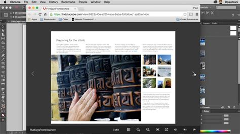 Creating Html From Indesign Youtube Indesign 5 5 Templates