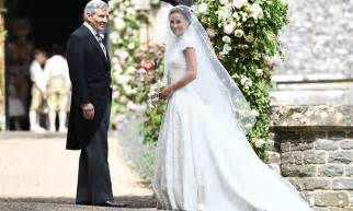 pippa middleton incredible bridal gown by giles deacon