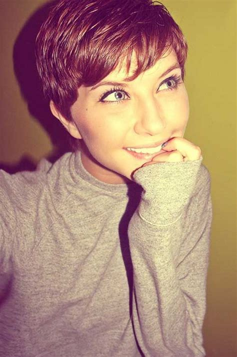 hairstyles for thick ugly hair 10 girls with pixie cuts style pinterest rapunzel