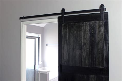 installing a barn door how to install a barn door gray house studio