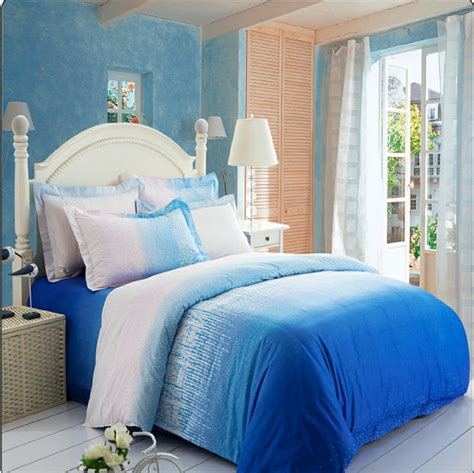 Blue Ombre Comforter by Pin By Faulkner On House Ideas