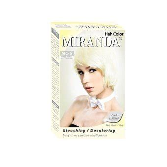 A31 Miranda Hair Color 30ml miranda hair color bleaching 30 ml lazada indonesia