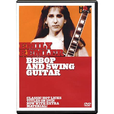 Hot Licks Emily Remler Bebop And Swing Guitar Dvd