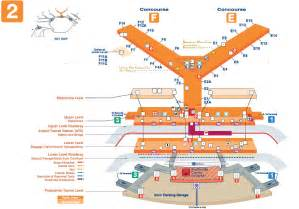 Chicago o hare terminal 2 map