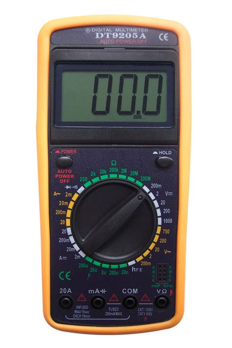 Multimeter Multitester Digital Szbj Dt9205a sell digital multimeter dt9205a manufacturer supplier