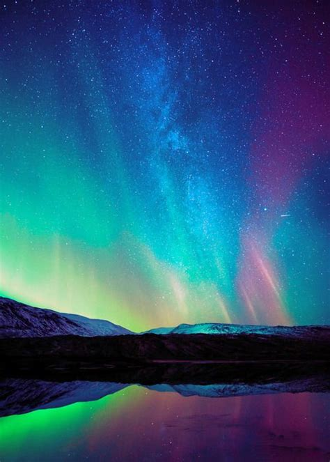 aurora australis southern lights nature pinterest