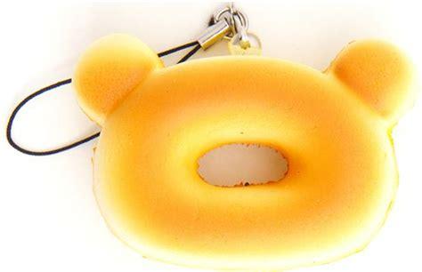 Toys Donuts Whitesugar white rilakkuma donut squishy cellphone charm chocolate