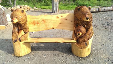 bear bench 3 bears bench turnagain gallery and gifts