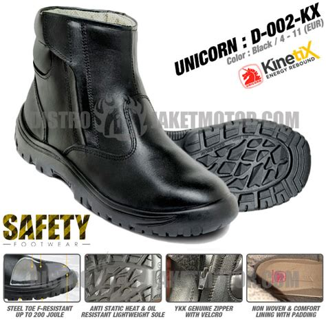 Sepatu Unicorn sepatu touring dan motor distrojaketmotor