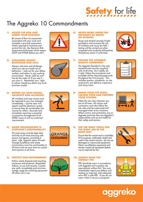 aggreko health and safety projects on behance