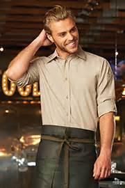 Chambray Sleeve Shirt Jaxon kitchen and restaurant staff shirts chef works