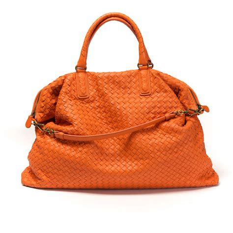 Bottega Veneta Ebay Alert With Bottega Veneta Purse by Bottega Veneta Handbag Orange Intrecciato Nappa Leather