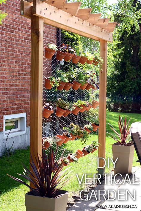 how to build a vertical wall garden diy vertical garden wall the whoot