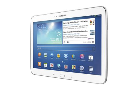 Samsung Tablet 10 1 Inch samsung introduces new galaxy tab 3 series sammobile