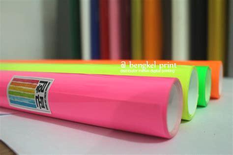 Polyflex Glow In The Kode Tr6567 2 5 proses cutting sticker bahan polyflex bengkel print