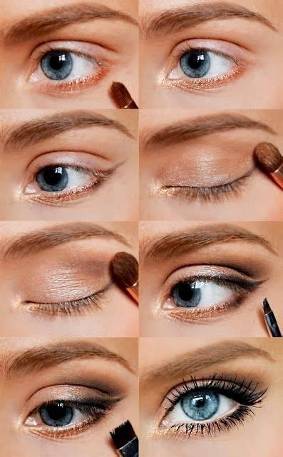 berbagai step by step tutorial eyeshadow natural vemale com nat 252 rliche augen make up 42 wundersch 246 ne augen make up