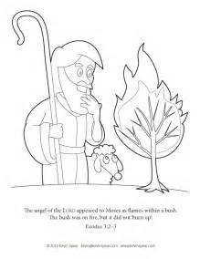 what color was moses moses and the exodus coloring pages
