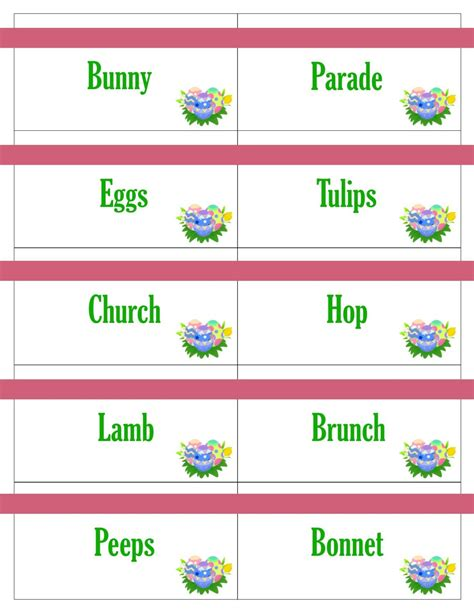 printable christmas pictionary cards printable easter game cards for pictionary charades