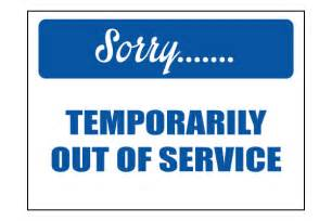 Bathroom Temporarily Out Of Service Temporarily Out Of Order Signs Www Imgkid The