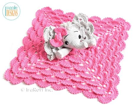 crochet pattern elephant baby blanket crochet pattern pdf for making an adorable elephant lovey