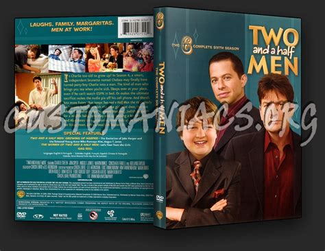 Two Season6 two and a half season 6 dvd cover dvd covers