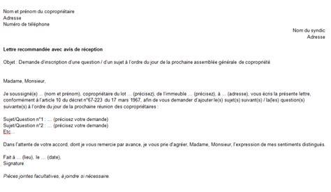 Exemple De Lettre De Demande D Inscription Dans Une Universit lettre de demande d inscription d un sujet 224 l ordre du