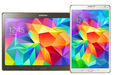 Samsung Galaxy Tab S 10 Inch samsung galaxy tab s 8 4 inch and 10 5 inch tablets