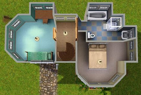 Home Design For Small Homes by Mod The Sims 4 Starter Road A Base Game Compatible Cc