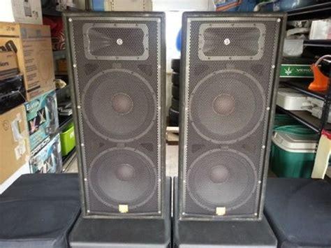 Speaker Jbl Jrx 125 pair 2 jbl jrx 125 2 way speakers black reverb