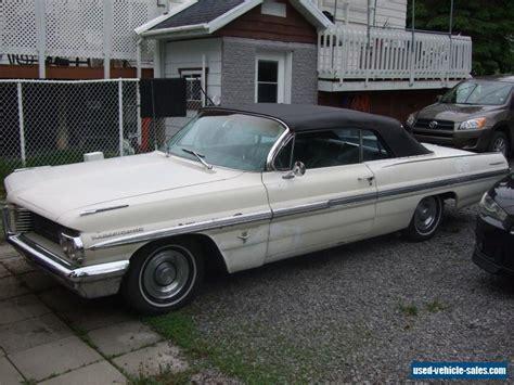 1962 Pontiac Bonneville Convertible For Sale by 1962 Pontiac Bonneville For Sale In Canada
