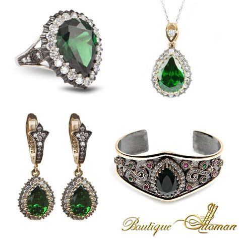 ottoman silver jewellery hareem al sultan jewelry set حريم السلطان by boutique ottoman