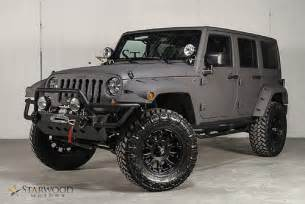 Jeep Matte 2013 Jeep Wrangler Unlimited Bentley Matte Satin Grey K