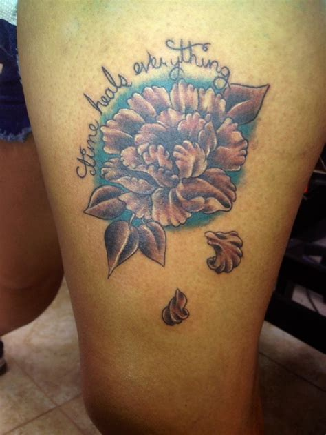 splash of color tattoo lotus flower black and grey splash of color for the