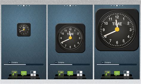 android clock widget iphone clock as android widget by vineetsirohi on deviantart