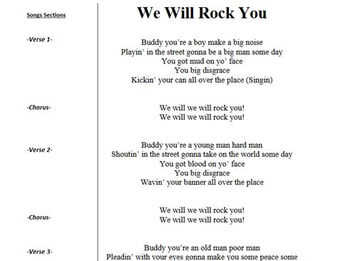 we will rock you testo voice lessons manchester derry londonderry new hshire