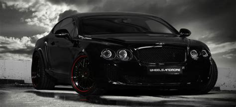 bentley black and red 2010 wheelsandmore bentley continental ultrasports 702