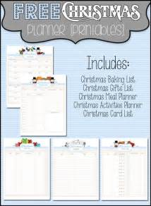 christmas planner free printables the scrap shoppe