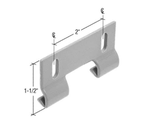Sliding Shower Door Guide Crl Sliding Shower Door Hook Guide