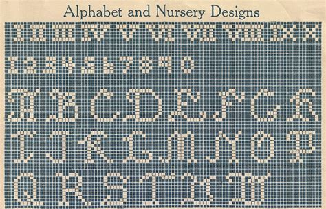 html pattern alphanumeric sentimental baby children s motifs for cross stitch or