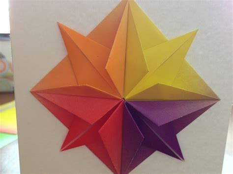 Origami For Cards - origami greeting card make