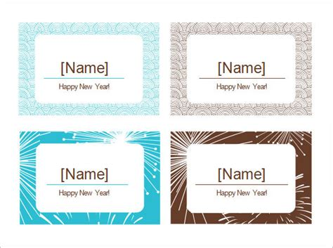 place card template word 6 per sheet sle place card template 6 free documents in