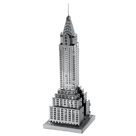Picture Of Chrysler Building by Innovatoys Metal Earth Store Free Shipping For