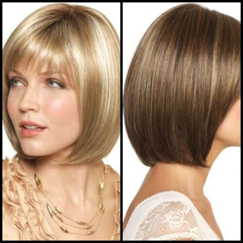 hairstyles bangs bob long bob hairstyles with bangs