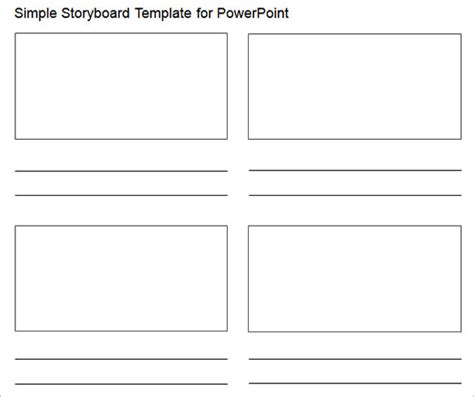 28 Microsoft Powerpoint Templates Free Premium Templates Storyboard Template For Powerpoint
