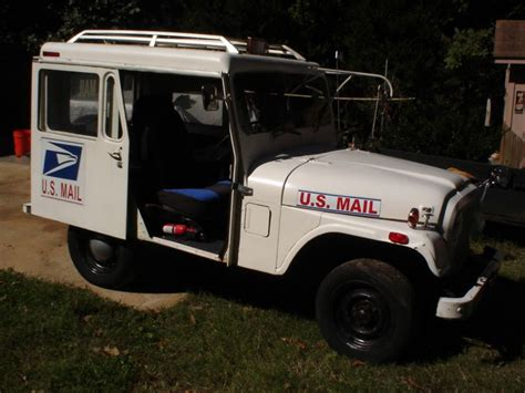 77 Us Mail Postal Jeep Amc Rhd Rmd Truck For Sale