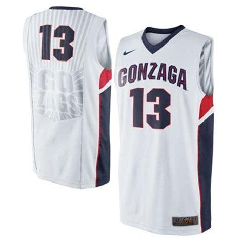 gonzaga colors gonzaga bulldogs nike elite basketball jersey white