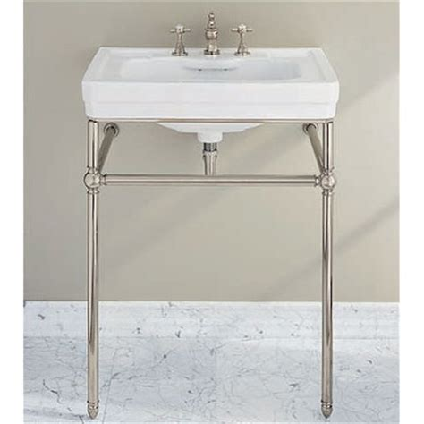 console sink with chrome metal console sink stands home decor and interior design