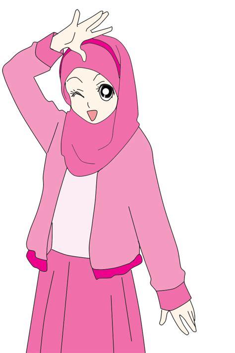 freebies doodle muslimah comel nabila medan freebies doodle muslimah